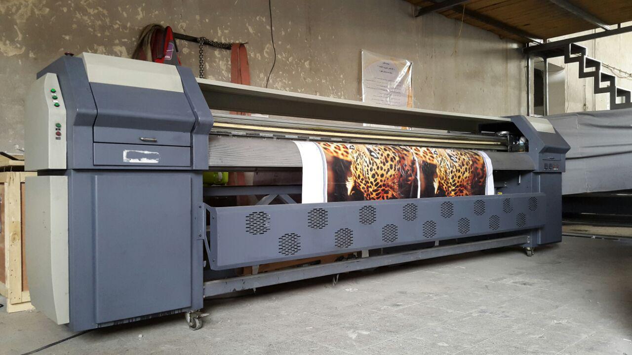 دستگاه چاپ بنر سيكو استوك هد ها سالم سرعت ٥٥ متر مربع